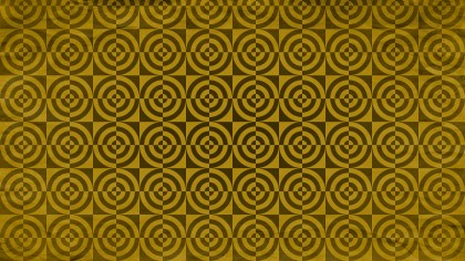 Brown and Gold Geometric Circle Background Pattern Image
