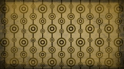 Brown and Gold Circle Pattern Background Image