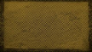 Dark Brown Seamless Circle Pattern Background Image