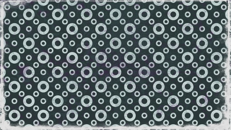 Dark Color Seamless Circle Pattern Background Image