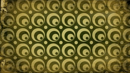 Dark Color Grunge Seamless Geometric Circle Pattern Background