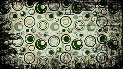Dark Color Seamless Circle Grunge Pattern Background Design