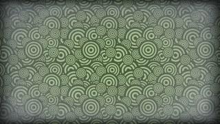 Dark Green Geometric Circle Pattern Background Image