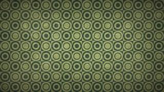 Dark Green Seamless Geometric Circle Background Pattern Image