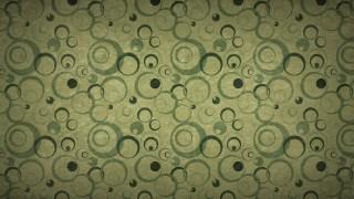 Dark Green Circle Background Pattern Image