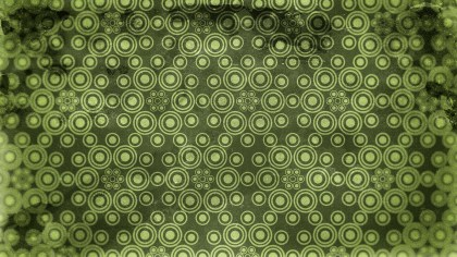 Dark Green Grunge Geometric Circle Background Pattern Design