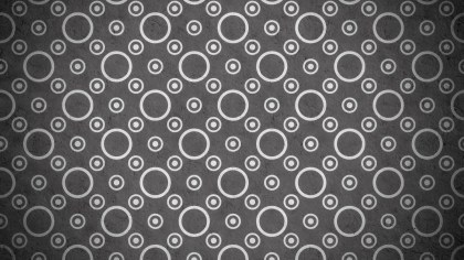 Dark Grey Geometric Circle Background Pattern Image