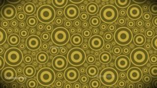 Gold Circle Background Pattern Image
