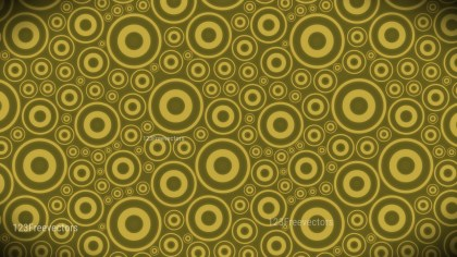 Gold Circle Background Pattern Image