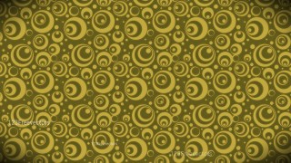 Gold Circle Pattern Background Image