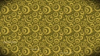 Gold Circle Pattern Background Image