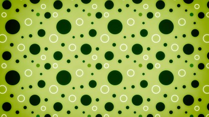 Green Seamless Geometric Circle Pattern Background Image