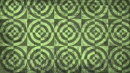 Green Grunge Seamless Circle Background Pattern