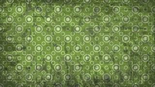 Green Grunge Seamless Circle Wallpaper Pattern Graphic