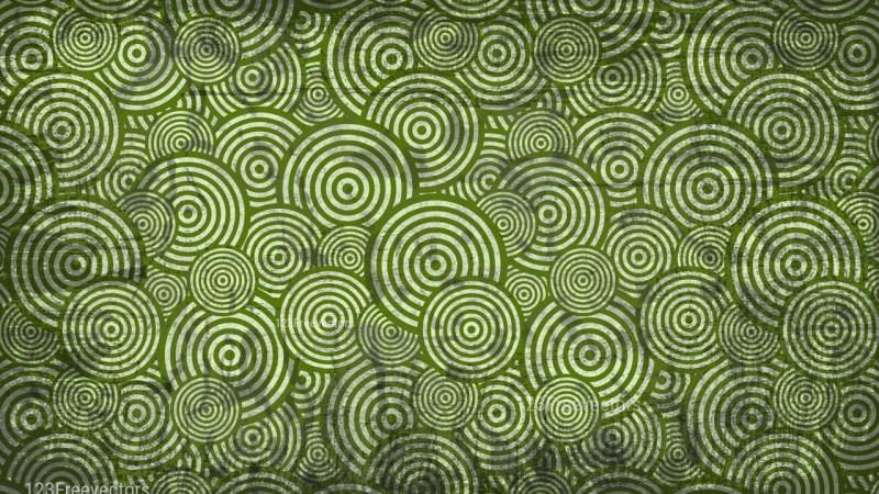 Green Grunge Seamless Geometric Circle Wallpaper Pattern Background