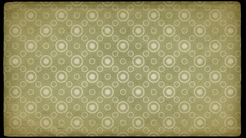 Green and Beige Circle Background Pattern Image