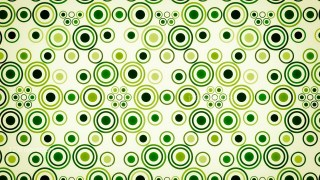 Green and Beige Geometric Circle Pattern Background Image
