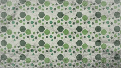 Green and Beige Grunge Circle Pattern Background Texture