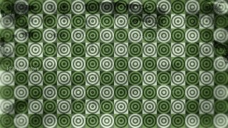 Green and Beige Grunge Geometric Circle Pattern Background Design