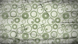 Green and Beige Grunge Seamless Geometric Circle Pattern Background Design