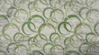 Green and Beige Grunge Geometric Circle Wallpaper Pattern Design