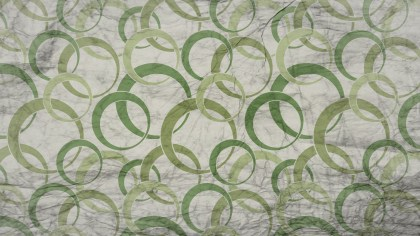 Green and Beige Grunge Geometric Circle Wallpaper Pattern Design