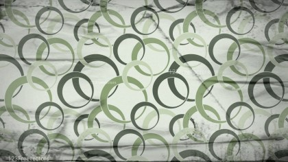 Green and Beige Grunge Seamless Geometric Circle Wallpaper Background Design