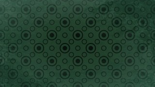 Green and Black Circle Pattern Background Image