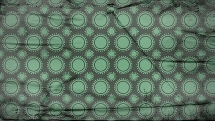 Green and Black Grunge Circle Pattern Background