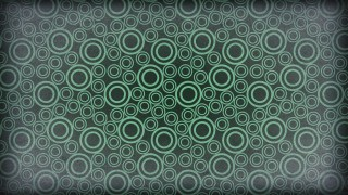 Green and Grey Seamless Geometric Circle Background Pattern Image
