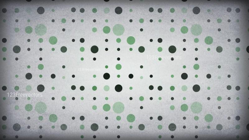 Green and Grey Geometric Circle Background Pattern Image