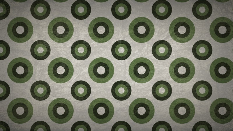 Green and Grey Circle Background Pattern Image
