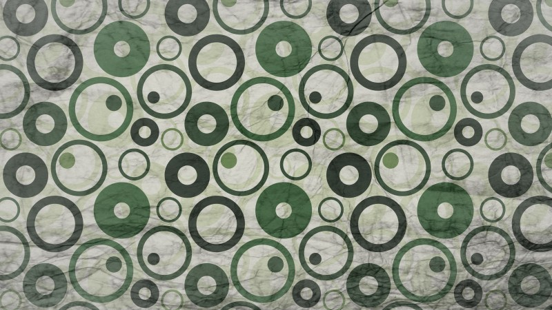 Green and Grey Grunge Seamless Circle Background Pattern Image