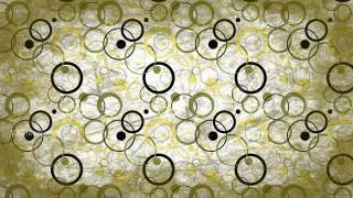 Green and White Grunge Circle Pattern Wallpaper