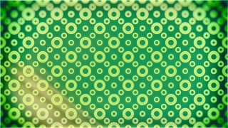 Green and Yellow Circle Background Pattern Image