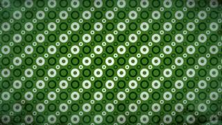 Green Black and White Geometric Circle Background Pattern Image
