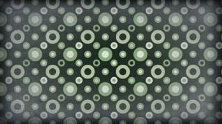 Green Black and White Geometric Circle Pattern Background Image