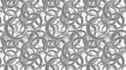 Grey and White Circle Pattern Background Image