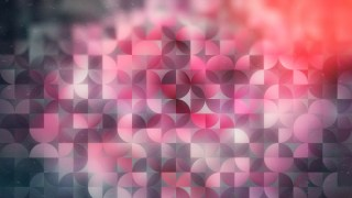 Abstract Pink Black and White Quarter Circles Background Image