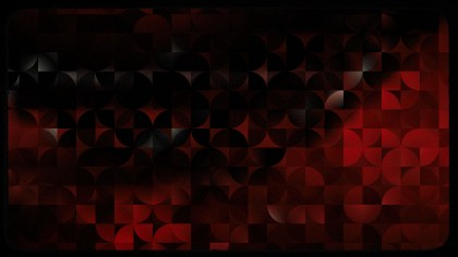 Red and Black Abstract Quarter Circles Background Image
