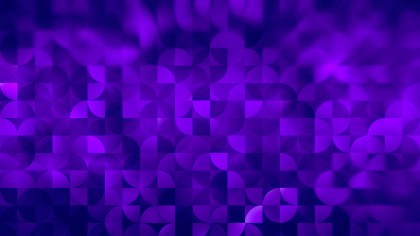 Abstract Violet Quarter Circles Background