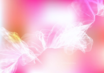 Pink and White Smoke Background Image