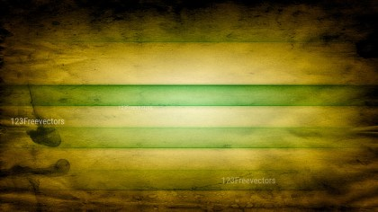 Green and Gold Vintage Grunge Background Image