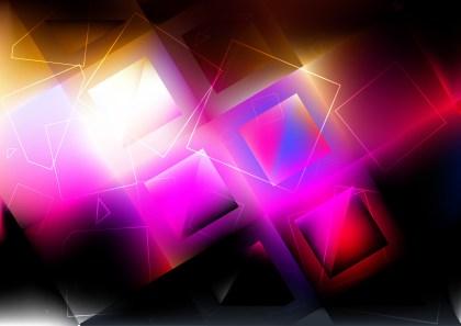 Dark Color Square Background