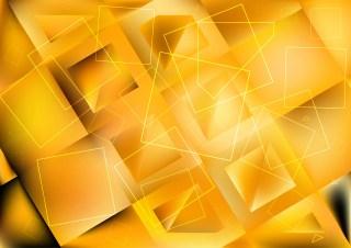 Abstract Orange Geometric Square Background Image