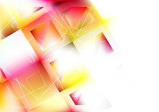 Pink Yellow and White Square Background Graphic