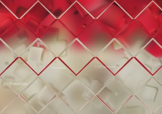 Red and Brown Geometric Square Background