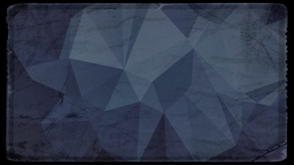 Black and Blue Grunge Polygon Abstract Background Graphic