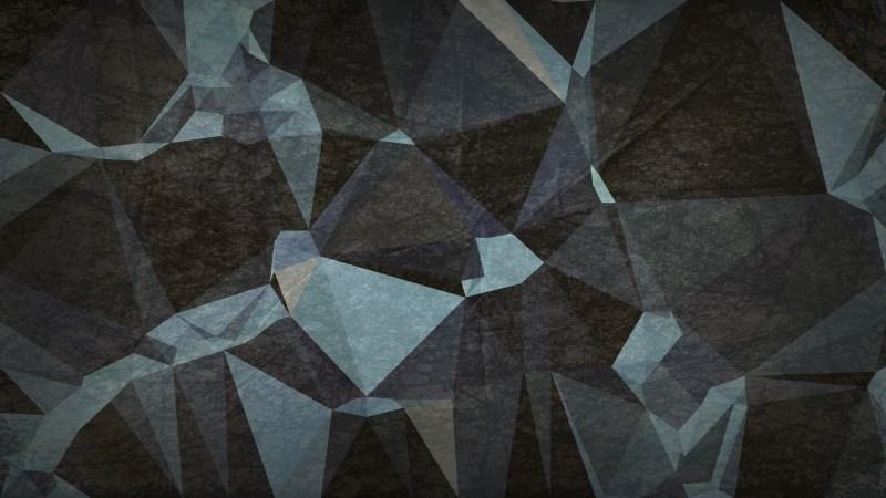 Black and Blue Grunge Geometric Polygon Background
