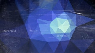 Black and Blue Grunge Polygon Triangle Background